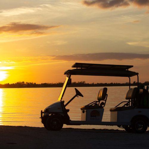 Sanibel Carts 4 Seater Sunset
